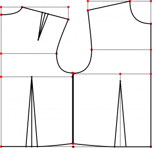 How to Draft a pattern for a bodice at home for free « Sewing